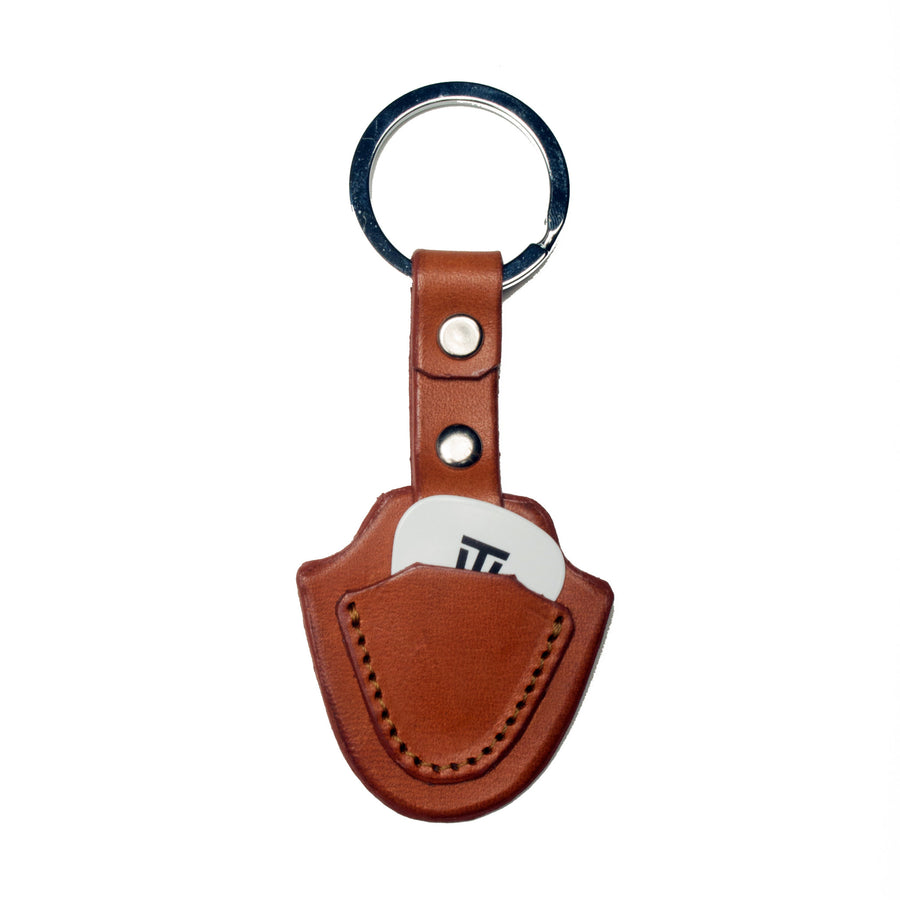 Pick Key Fob-New Castano ,Key Fobs- Volume&Tone Guitar Straps & Leather Goods
