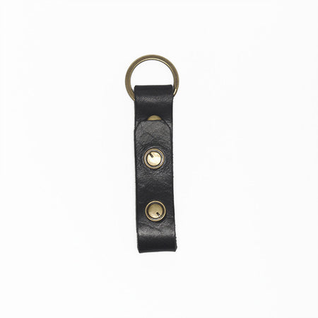 The Signature Key Fob-Black ,Key Fobs- Volume&Tone Guitar Straps & Leather Goods