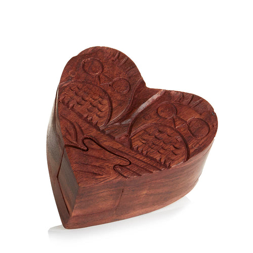 Love Owls Puzzle Box