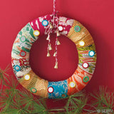 Patchwork Shhisa Kanth Wreath
