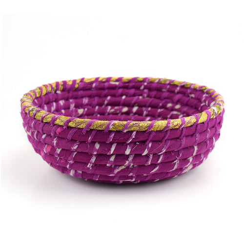 Sari Wrapped Bowl