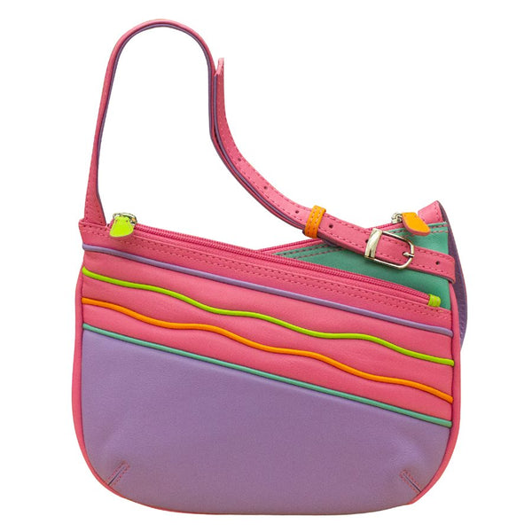 Spaghetti Stripe Crossbody Bag