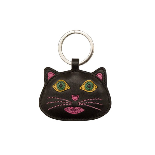 Cat Face Key Chain
