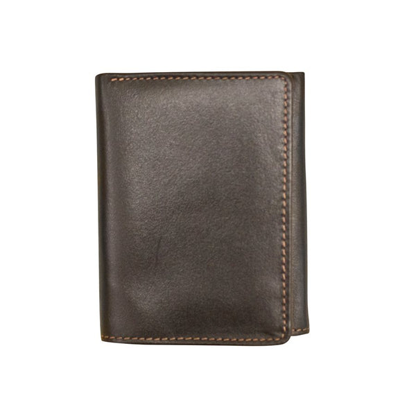 RFID Trifold Men's Wallet with Inside ID