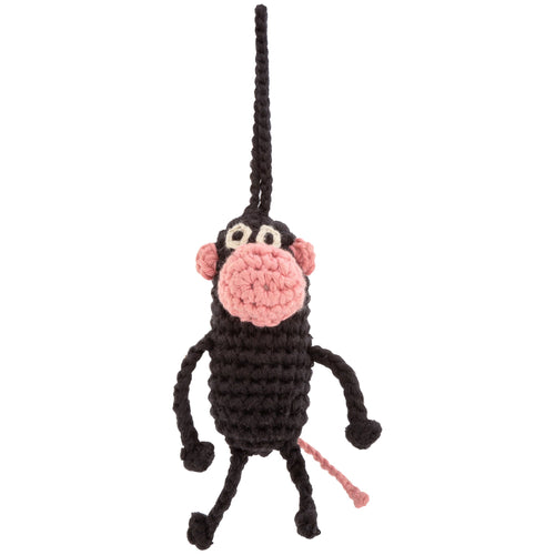 Bush Buddy Monkey Crochet Ornament