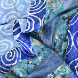 Panther Patchwork Silk Scarf