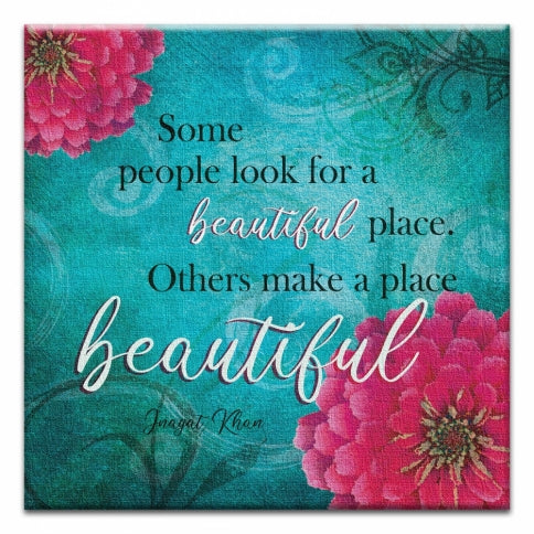 Beautiful Place All Occassion Canvas Art Card
