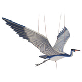 Blue Heron Flying Bird Mobile