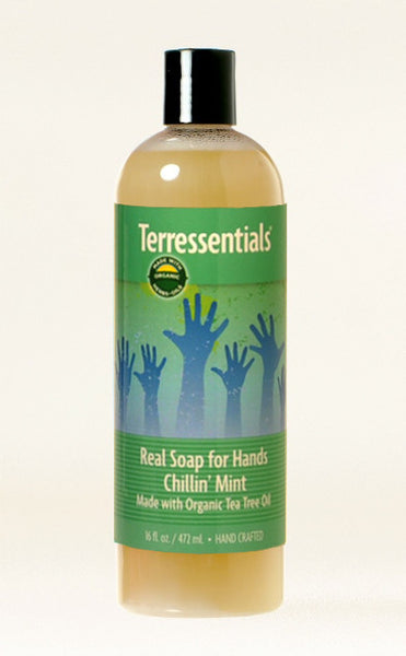 Real Soap Chillin' Mint — Made with Certified Organic Oils & Herbals!