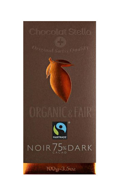 Fair Trade Certified Organic Dark Swiss Chocolate