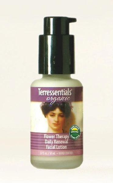 Organic Flower Therapy Daily Renewal Facial Lotion