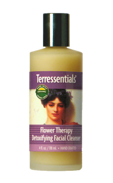 Certified Organic Flower Therapy Daily Renewal Facial Lotion