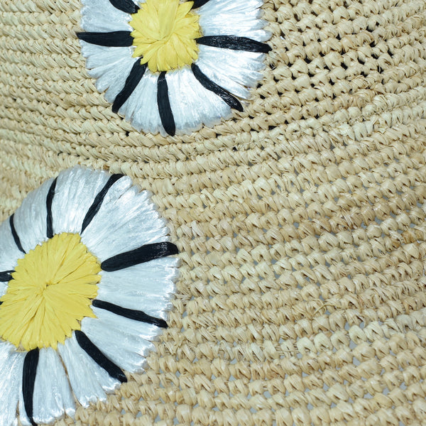 Trinidad Hand Embroidered Sun Hat