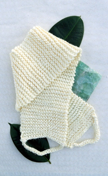 Hand-knitted Sisal Body Strap
