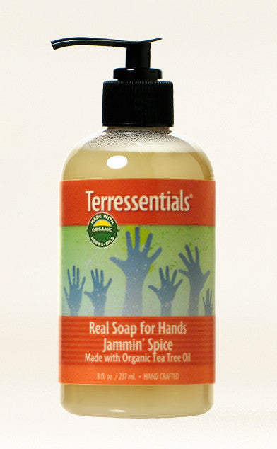 Real Soap Jammin' Spice — Made with Certified Organic Oils & Herbals!
