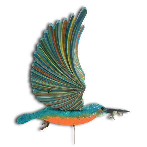 Kingfisher Flying Bird Mobile