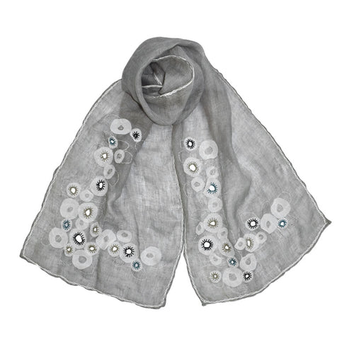 Harmony Embroidered Scarf