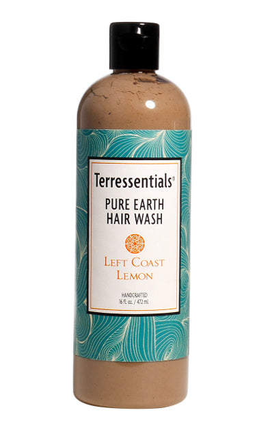 Left Coast Lemon Pure Earth Hair Wash
