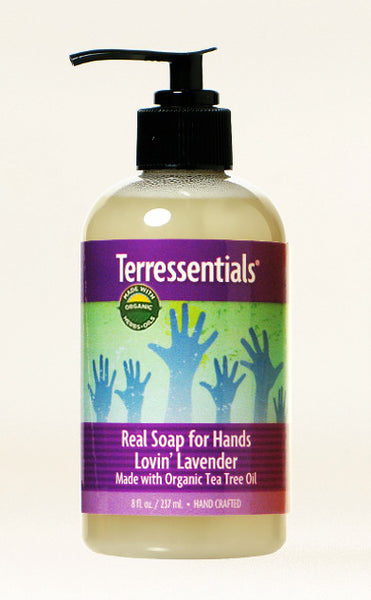 Real Soap Lovin' Lavender — Made with Certified Organic Oils & Herbals!
