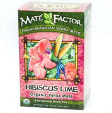 Organic Mate Factor Hibiscus Lime Tea
