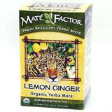 Organic Mate Factor Lemon Ginger Tea