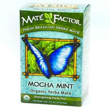 Organic Mate Factor Mocha Mint Tea