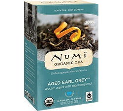 Fair Trade Organic Numi Aged Earl Grey Tea