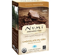 Fair Trade Organic Numi Chocolate Pu-erh Tea