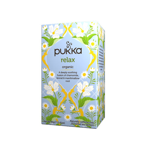 Fair Trade Organic Pukka Relax Tea