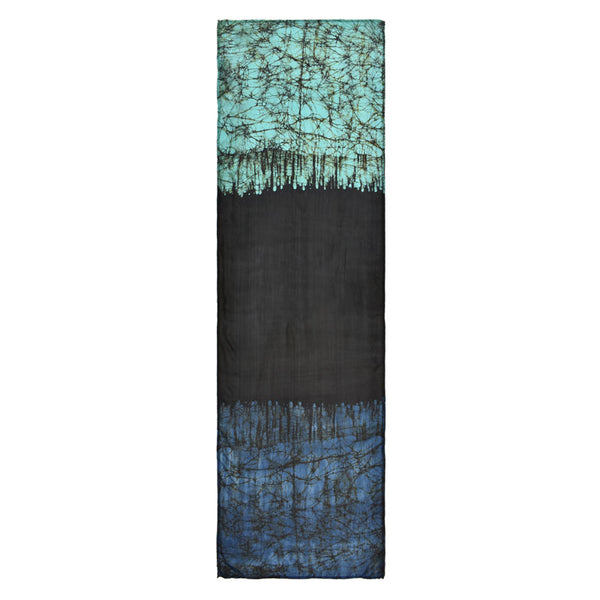 Mystique Batik Color Block Scarf