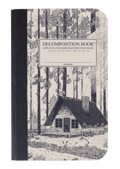 Redwood Creek Decomposition Pocket Sized Notebook