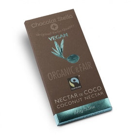 Fair Trade Organic Stella Vegan Coconut Nectar Chocolate Bar