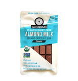 Fair Trade Organic Taza Vegan and Dairy-Free Almond Milk Classic Chocolate Bar