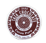 Fair Trade Organic Taza Cacao Puro Chocolate Disc