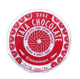 Fair Trade Organic Taza Cinnamon Chocolate Disc