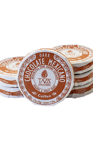 Taza Coffee Chocolate Mexicano Discs