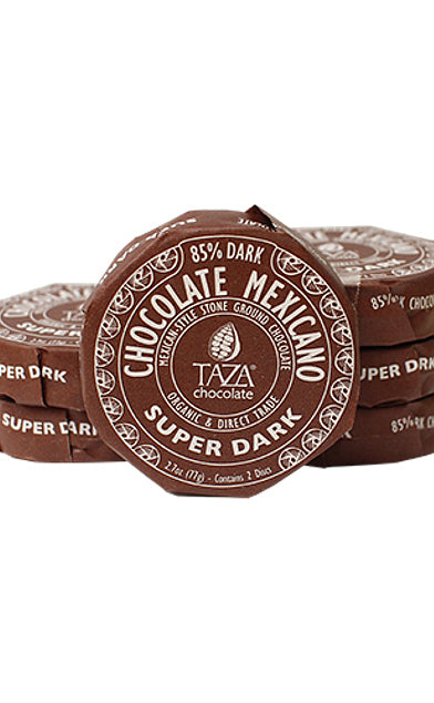 Taza Super Dark Chocolate Mexicano Discs