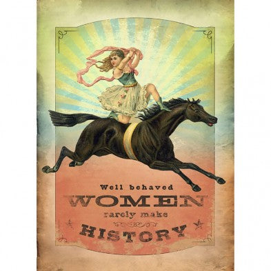 Well Behaved Women All Occassion Greeting Card