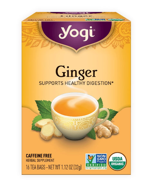 Organic Yogi Ginger Tea
