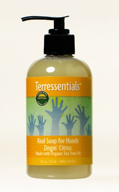 Real Soap Zingin' Citrus — Made with Certified Organic Oils & Herbals!