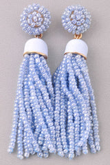 Magnolia Tassel Earrings