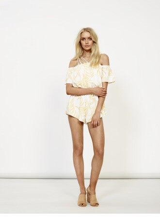 Paradise Strappy Playsuit