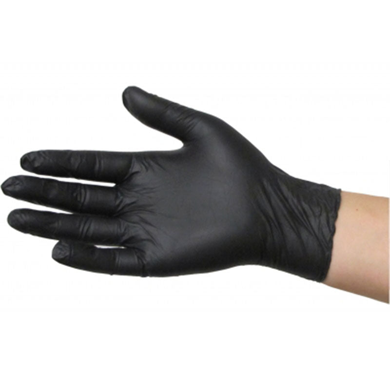Black Dragon Nitrile Powder Free Gloves - Good To Grow NZ