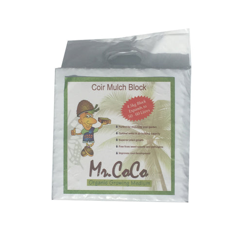 Mr Coco Coir Mulch Block 50-60L - Good To Grow NZ