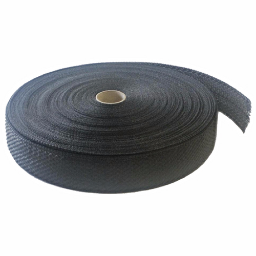 Black Polyethylene Tree Tie Webbing