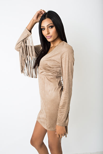 Sequoia Fringe Dress