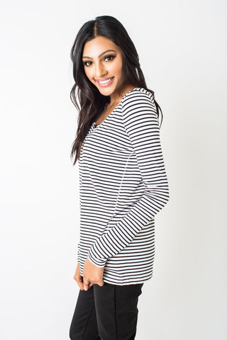 Lark Striped Top