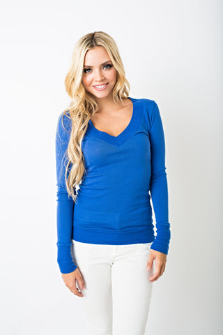 Sophomore V Neck Sweater