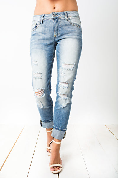 Love In Distress Boyfriend Jeans