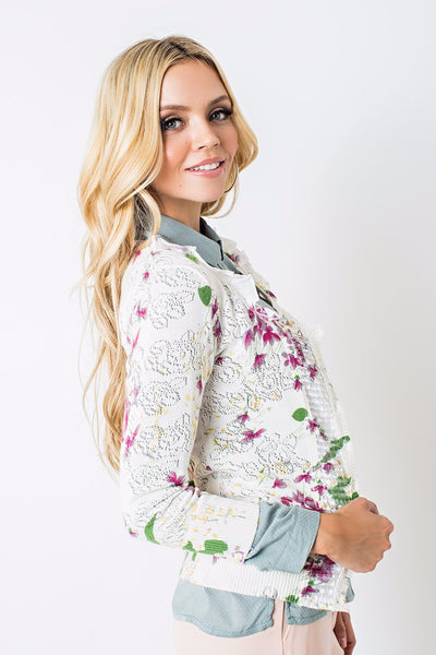 Christie Floral Cardigan